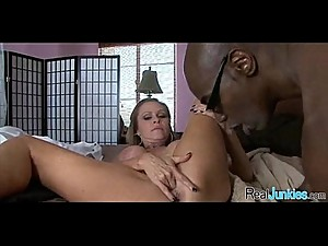 Watching mom fuck a black guy 118