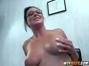 glasses MILF 4