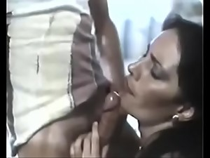 classic vintage hairy mom son romantic..