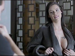 giant boobs stepmom ready to destroy..