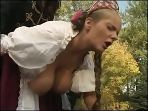 big boobs stepmom banged hard on the..