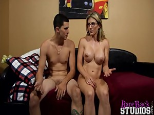 Son fucks his beutiful blonde mom and..