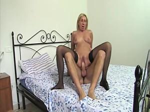 Italian mom seduces her son's friend