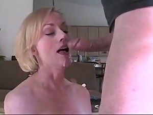 POV Mom wants son cum - Melanie Skyy -..