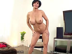 Sexy MILF Shay Foxx Huge Cock POV Blowjob