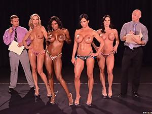 Fitness Model Porn Star Fuckfest Orgy..