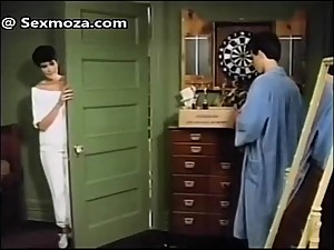 Famous stepmom and son bath scene..
